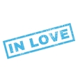 In Love Rubber Stamp vector image vector image
