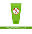 mosquito repeller icon vector image vector image