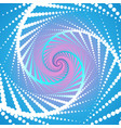 multicolored twist abstract background vector image