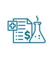 price drug medication insurance vector image vector image