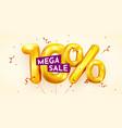 10 percent off discount creative composition