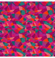 Bright colors mosaic seamless pattern looks vector image