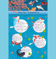 carp koi infographics features of different types vector image vector image