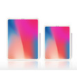 new tablet pro x vecot with vector image vector image