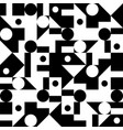 seamless abstract pattern background black white vector image vector image