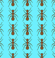 Sketch cute ant in vintage style vector image vector image