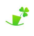 st patricks day emblem logo symbol vector image