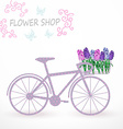 Flowers delivery vector image vector image