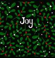 joy modern card template with colorful vector image vector image
