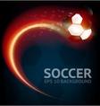 Soccer Background vector image