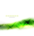 Abstract background green wave business template