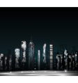 Cartoon city vector image vector image