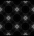 design seamless monochrome grating pattern vector image