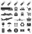 e commerce icons vector image vector image