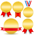 Golden medals vector | Price: 1 Credit (USD $1)