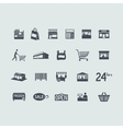 Set of store icons vector image