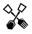 spatula icon vector image vector image