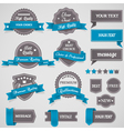 Vintage labels and ribbons vector | Price: 3 Credits (USD $3)