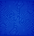 circuit board or microchip vector image