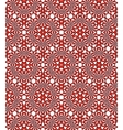 Abctract seamless pattern vector image