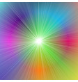 abstract dynamic gradient star burst background vector image vector image