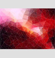 flat abstract polygonal banner ackground vector image vector image