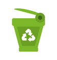 green ecology and enviroment icon vector image vector image