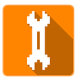 Two way Wrench vector image vector image