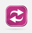 update Color square icon vector image