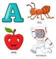 a alphabet vector image vector image