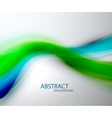 Blurred abstract blue green wave background vector | Price: 1 Credit (USD $1)
