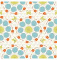 sunshine pattern vector image vector image