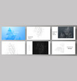 the minimalistic abstract editable layout vector image vector image