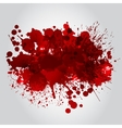 Background With Red Blots vector image vector image