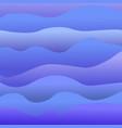 beautiful sea waves marine color vector image