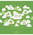 Cloud Green Concept vector image