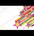 Comet of gift vector image vector image