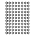 Cross block pattern vector image vector image