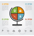 e commerce infographic 5 vector image vector image