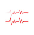 health medical heartbeat pulse vector image vector image