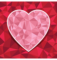 heart decoration vector image vector image