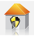 home protection concept vector image vector image