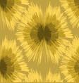 pattern ikats yellow and green vector image vector image