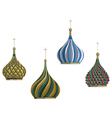 Russian objects vector image vector image