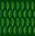tropical leaf pattern design vector image