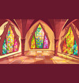 ballroom or gothic palace hall vector image vector image