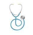 blue Stethoscope vector image