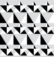 geometric seamless pattern - abstract black and wh vector image