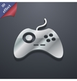 Joystick icon symbol 3D style Trendy modern design vector image vector image