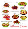 moroccan food traditional cuisine menu dishes
